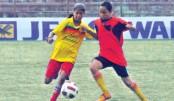 Thakurgaon, Tangail dominate the nets