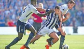 West Brom stave off drop, Stoke relegated