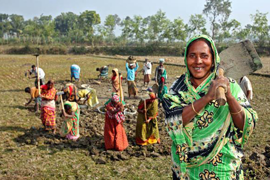 Scaling-up Adaptation Actions through Social Protection