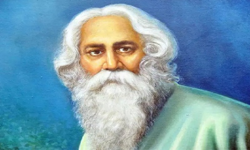 Rabindranath Tagore's birth anniversary being celebrated