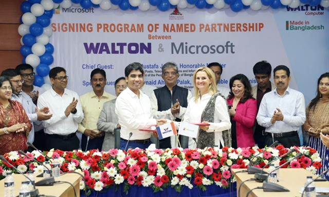 Walton inks partnership deal with Microsoft