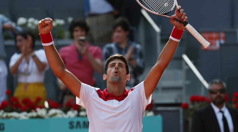 Djokovic defeats Nishikori in 1st round of Madrid Open