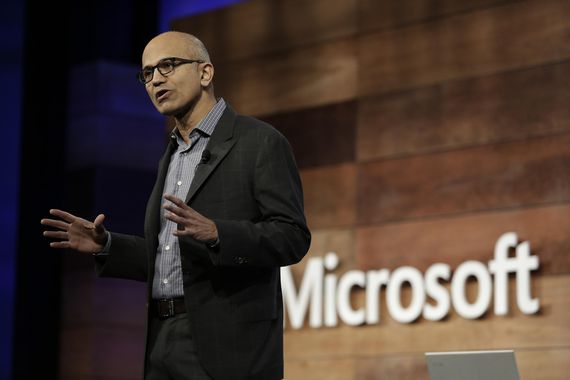 Microsoft CEO says 'privacy is a human right'