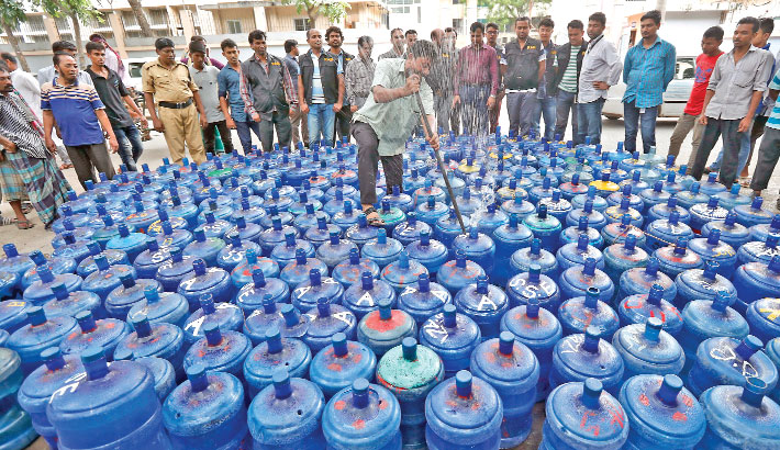 Jail, fine for selling unsafe jar water