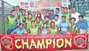 SU wins inter-university cricket tournament