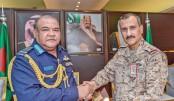 Air chief visits Saudi Arabia