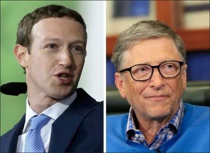 Bill Gates and Mark Zuckerberg collaborate for a new