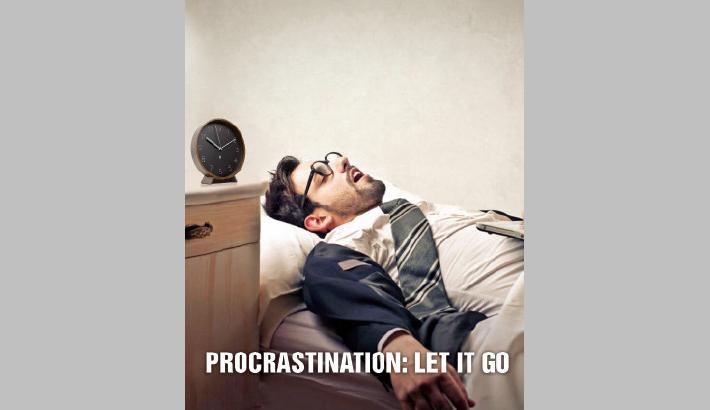 Procrastination: Let It Go