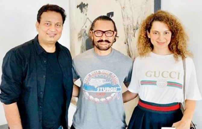 Kangana Ranaut to team up with Aamir Khan