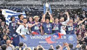 PSG win French Cup, claim treble