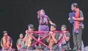 Tringsha Shatabdee staged at Shilpakala Academy