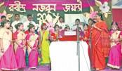 Rabindra, Nazrul Jayanti at Scholastica