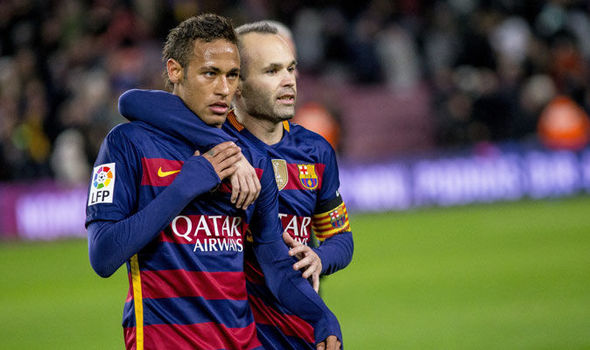 Neymar returning to Barca would be 'weird', says Iniesta