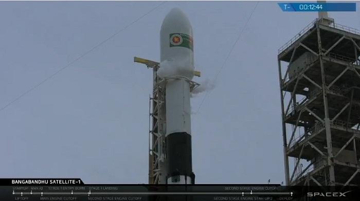 Bangabandhu satellite launching early Friday