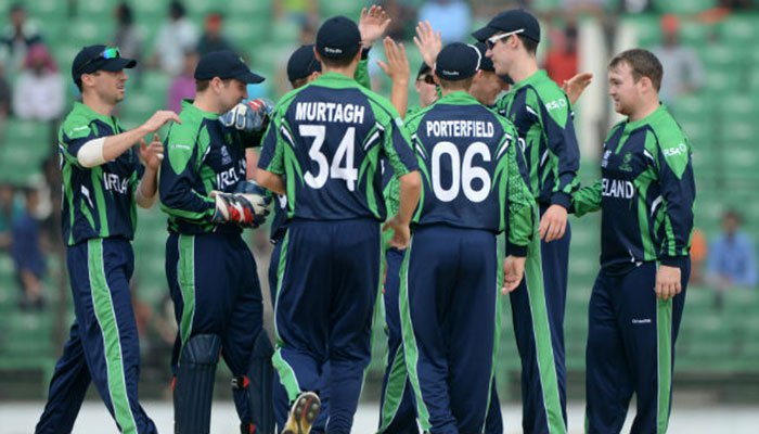Ireland aim for upset on Test debut