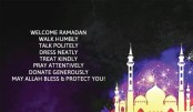 How to welcome Ramadan