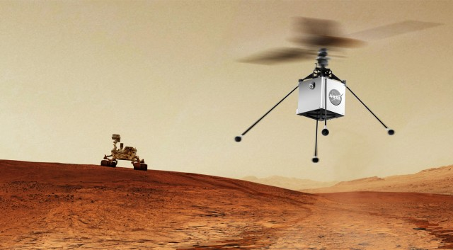 NASA plans to send mini-helicopter to Mars