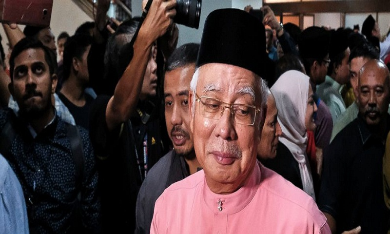 Defeated Malaysian leader Najib Razak resigns from his party