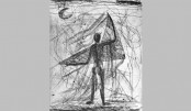 Tariq Julfiker's solo art exhibition begins today