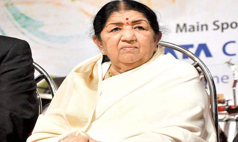 Lata Mangeshkar conferred 'Swara Mauli' award