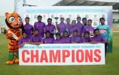 School Cricket: Bogura Police Lines clinch title