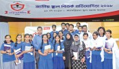 Last phase of school debate of metro zone held