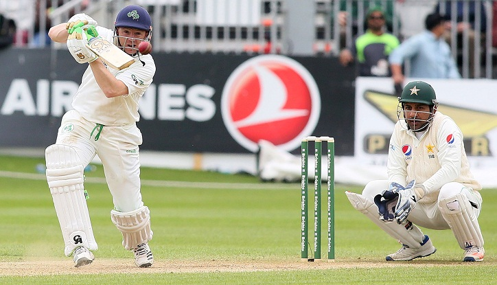 O'Brien the hero as Ireland avoid innings defeat in debut Test