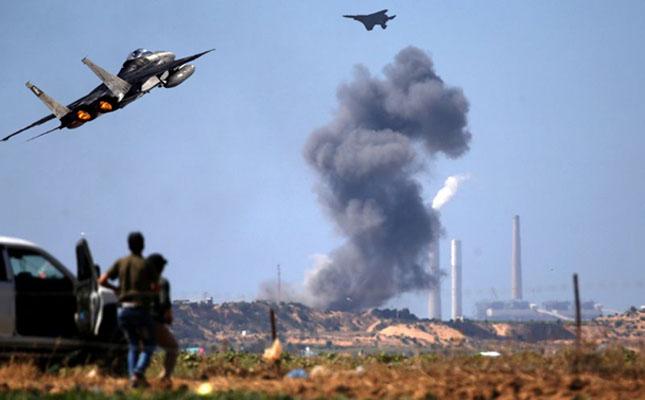 Israeli warplane hits Hamas facility in Gaza: army