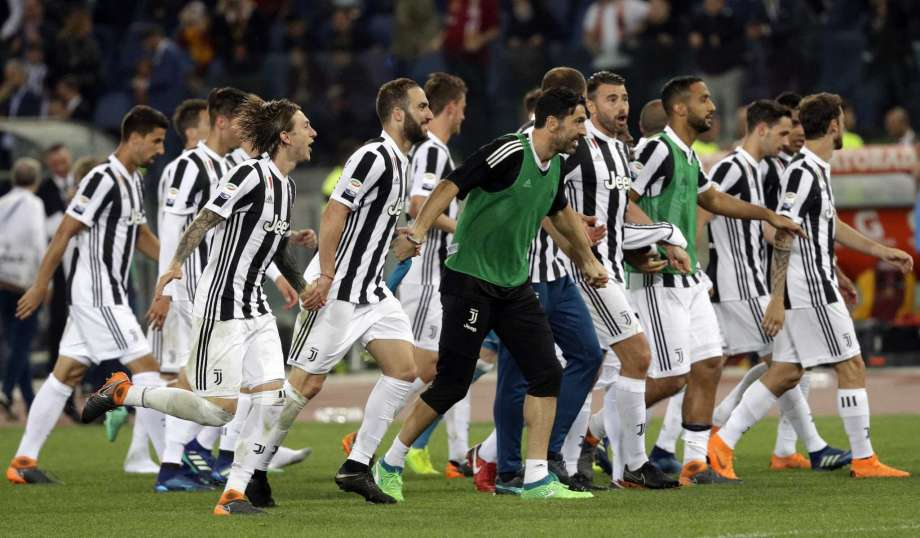 Juventus extends record streak to 7 Serie A titles