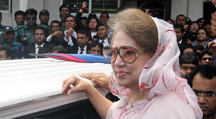 Supreme Court decision on Khaleda's bail now Wednesday