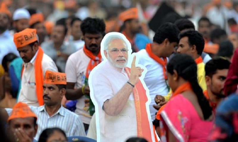 India's BJP ahead in crucial Karnataka state poll
