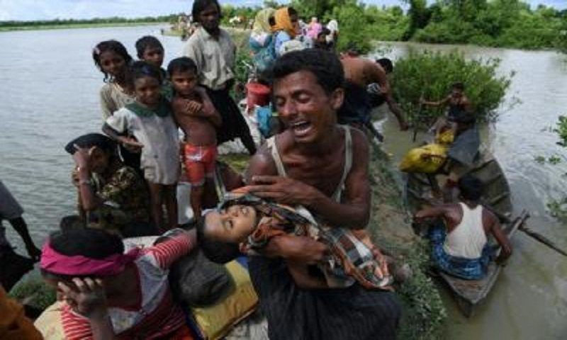 US pushes for UN resolution on Rohingya crisis