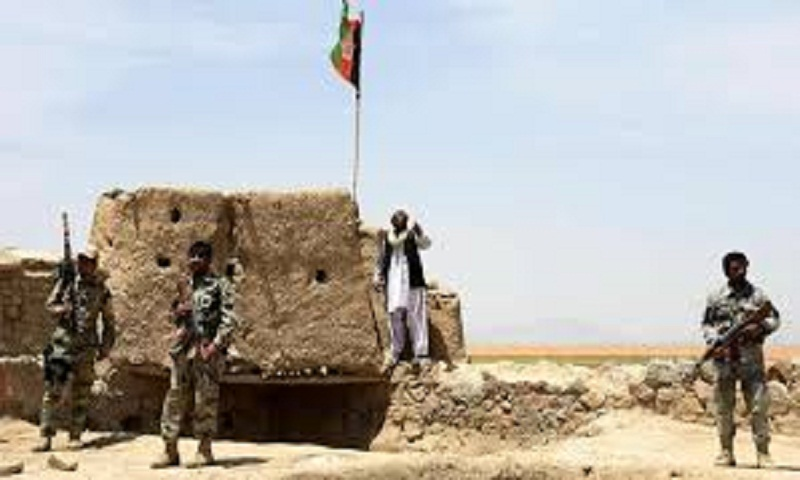 Officials: Taliban fighters attack western Afghan city