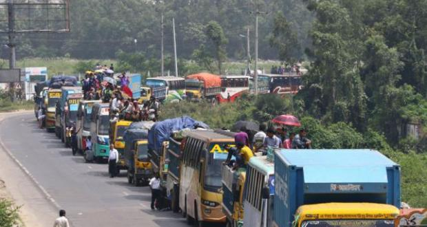No respite yet from Dhaka-Chattogram highway tailbacks