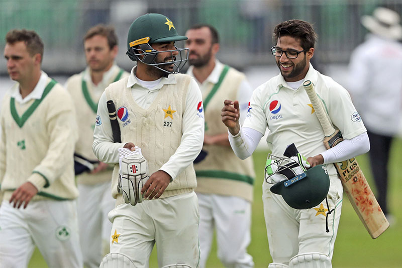 Imam-ul-Haq sees Pakistan to victory over test debutants Ireland