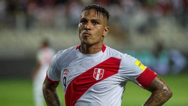 Peru skipper Guerrero hits out at doping ban 'injustice'