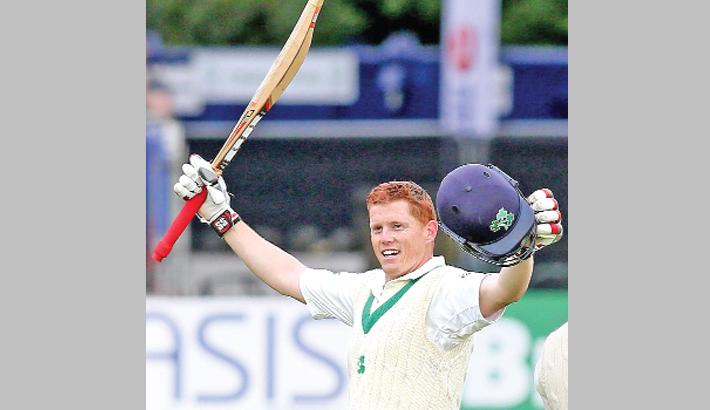 O'BRIEN HITS HISTORIC TON FOR IRELAND
