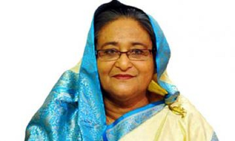 PM Sheikh Hasina reaches Rajshahi