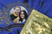 Condoms, prayer and sushi: The offbeat world of a royal wedding