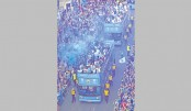 Man City parade with EPL trophy
