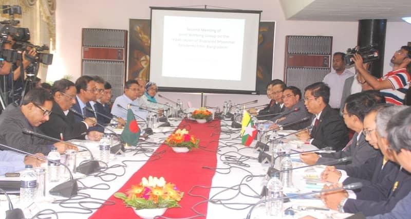 Bangladesh-Myanmar 2nd Joint Working Group meeting underway