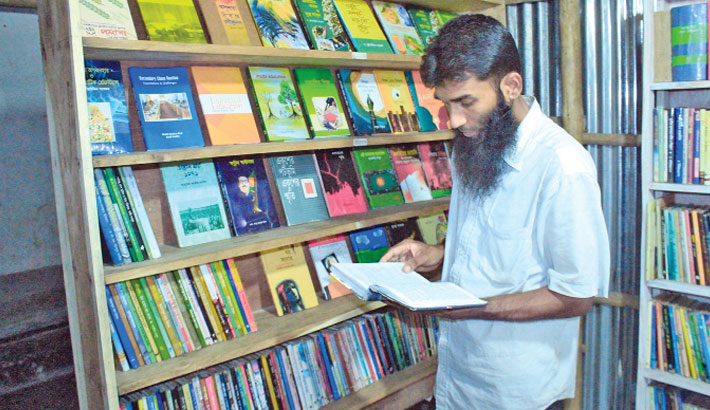 A great librarian in a village