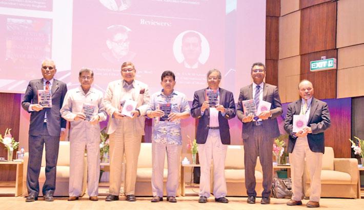 Book launching ceremony at IUB