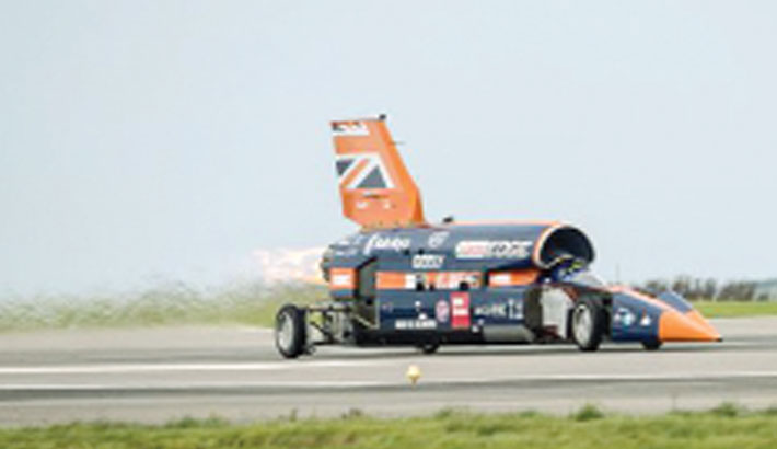 Delay for Bloodhound supersonic car's high-speed trials