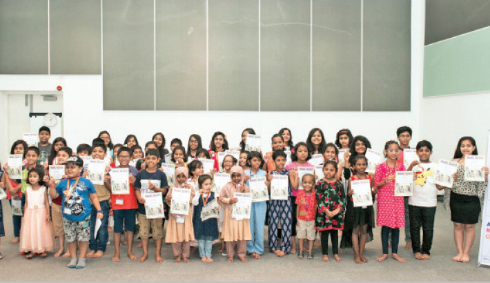 Prize-Giving Ceremony Of 'The Reading Challenge 2018' Hosted By British Council