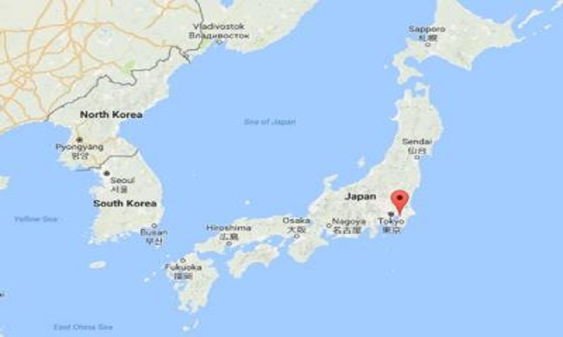 5.3-magnitude quake strikes Japan's Chiba Prefecture, no tsunami warning issued