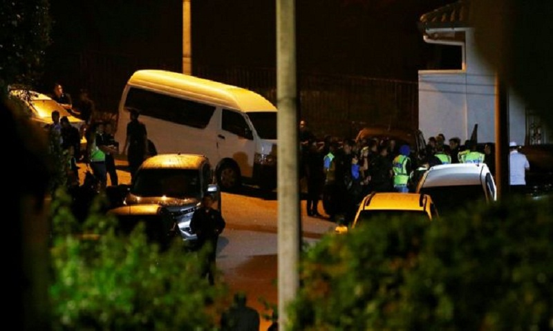 Malaysia's Najib Razak has home searched by police
