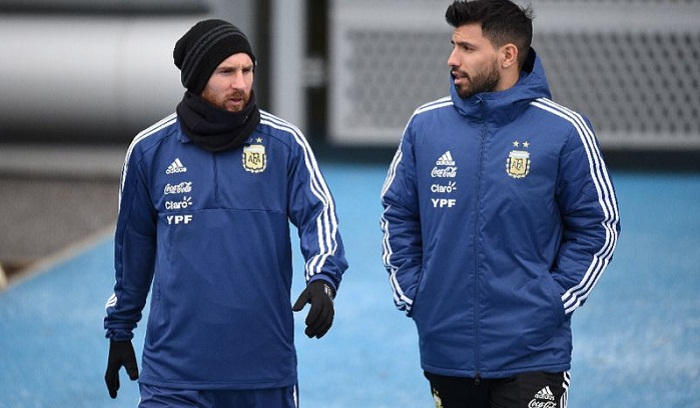 Aguero says club link-up with Messi 'impossible'