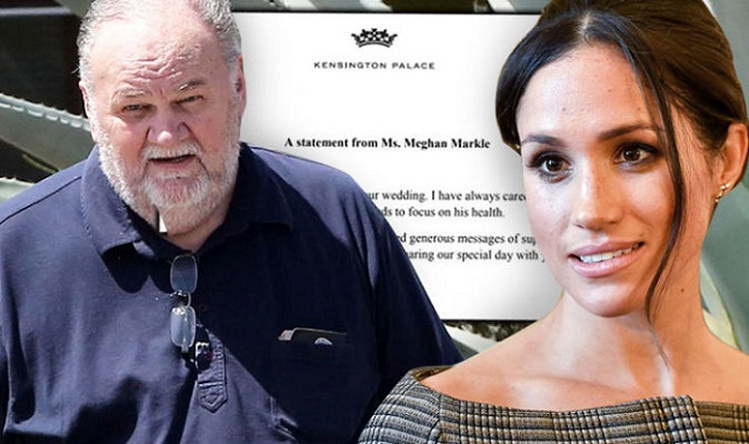Meghan sad over dad's wedding absence