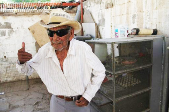 Work key to long life, says Mexican who may be world's oldest man